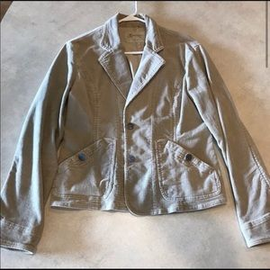 Maurice's Blazer Jacket Tan Size Large